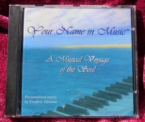 'Music of Your Soul' personalized CD