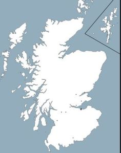 Scotland Map Outline
